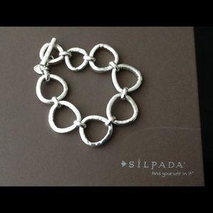 Silpada B2709 Silver Rush Bracelet